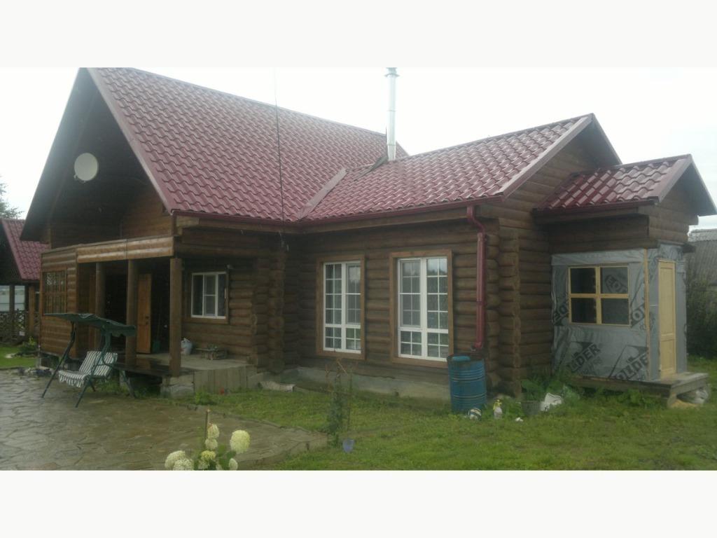 Двухэтажный дом по индивидуальному проекту на берегу озера аятское, продажа домов и коттеджей плотина, невьянский