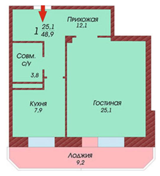 Квартиры в Калининском районе СанктПетербурга купить