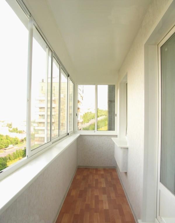 Дизайн балконов в панельных.
