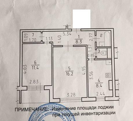 Продажа квартир / 2-комн., Ижевск, 2 954 000